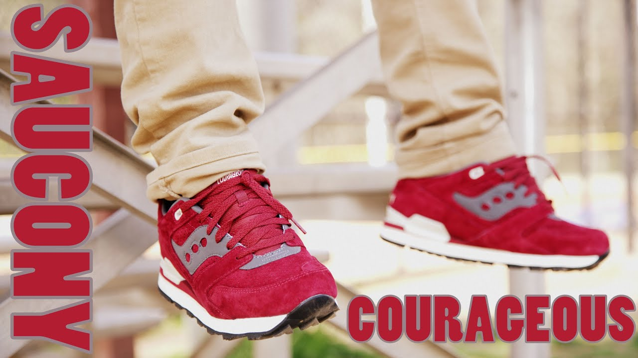 Saucony Courageous On Feet
