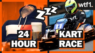 Can I Survive 24 Hours Of Non Stop Karting?