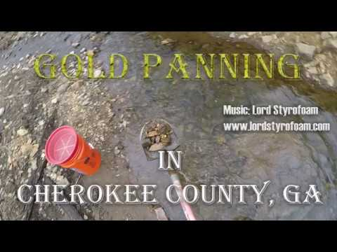 Gold Panning In Cherokee County, Georgia