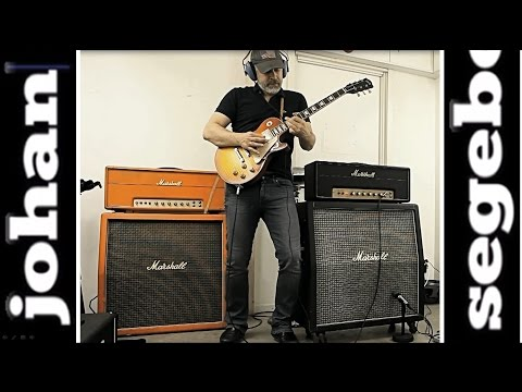 Marshall Plexi with all KNOBS ON FULL! No Attenuator