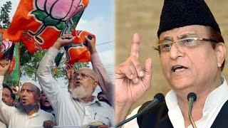 sp leader azam khan urged muslim voters to vote for bjp