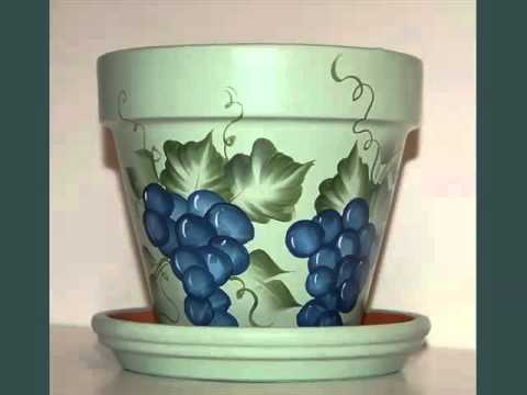 Flower Pot Design Collection Of Decor Picture Ideas YouTube Adorable Designs For Pots Decoration