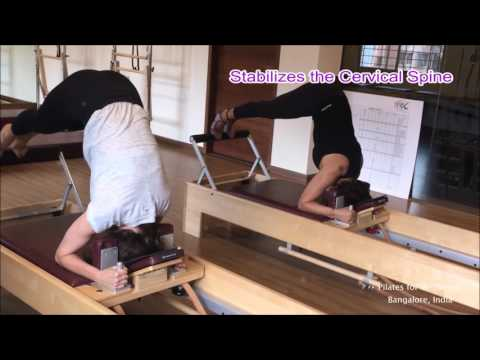 Pilates for Wellbeing: Head Stand Front on The Reformer