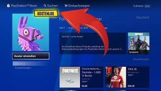 FREE FORTNITE AVATAR 😱 • PLAYSTATION 4
