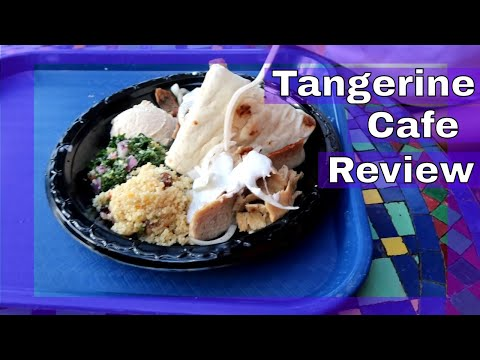 Tangerine Cafe Epcot | Shawarma Combo Platter Food Review (2018)