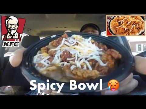 KFC Spicy Famous Bowl Food Review!!! | Addressing the Haters | Drive Threw Review With Nasty Nate