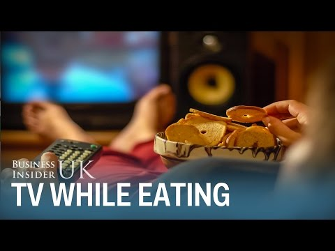 Why you shouldn't watch TV while you eat