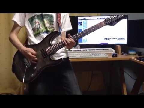 【ギター】共鳴のTrue Force / 原田ひとみ 【精霊使いの剣舞OP】 guitar Cover