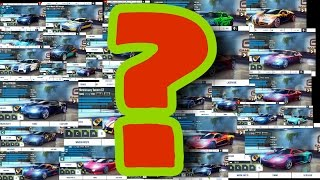 Which cars to get as a beginner in Asphalt 8