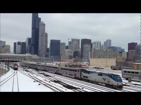 Chicago chillin Amtrak Metra CTA & Electrics