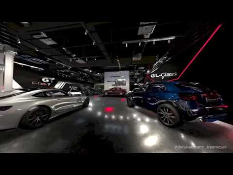 Mercedes Showroom VR 360 Interactive in 8k Web (Malaysia)