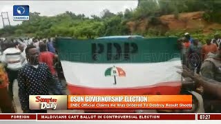 Osun Election: Oloke Faults INEC's Guideline Superceding The Constitution Pt.2  Sunrise Daily 