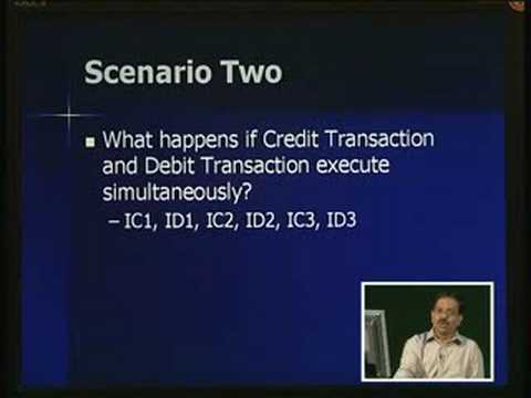 Lecture - 17 Transaction Processing Concepts