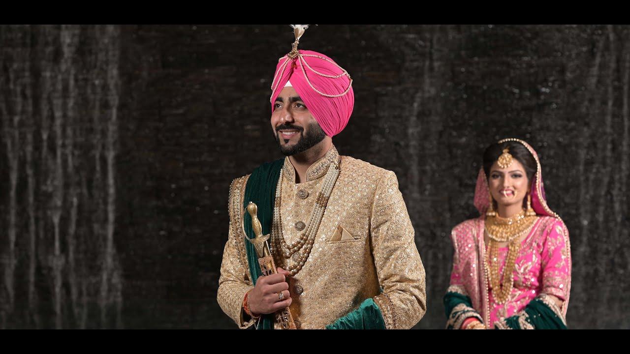 Best Punjabi Wedding highlights Ashdeep Weds Gurmandeep || A film By Vicky Bollywood
