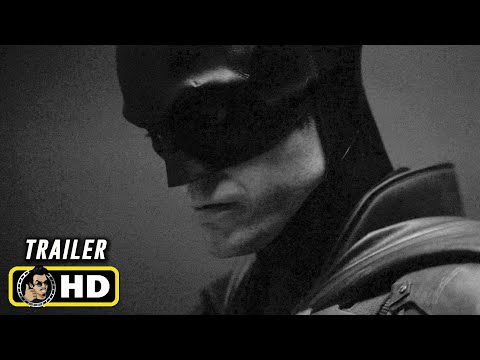THE BATMAN (2021) Robert Pattinson Batsuit Reveal [HD] Black & White Version