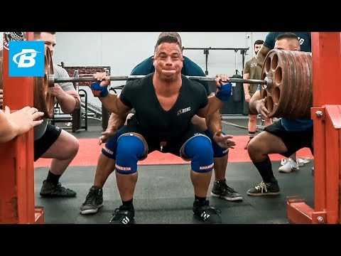 Nick Wright Smashes PR 585lbs Squat with Mark Bell