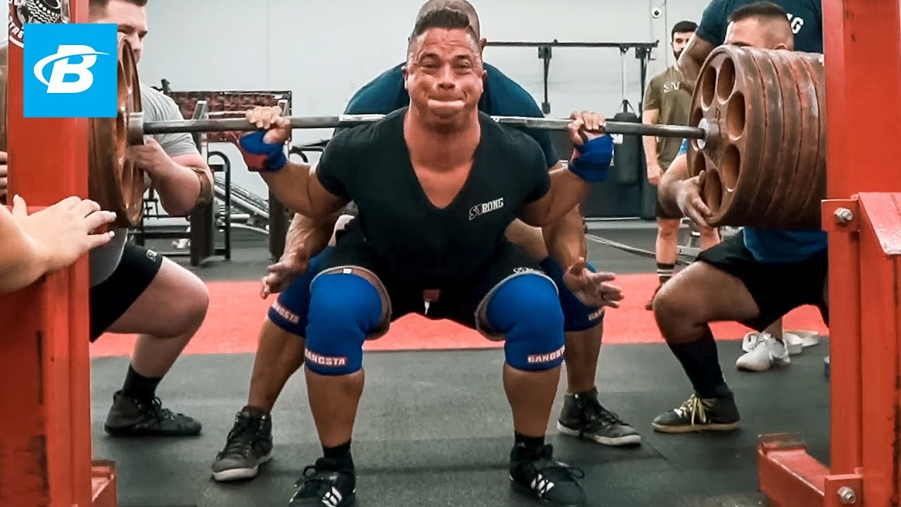Image result for Nick Wright Smashes PR 585lbs Squat with Mark Bell