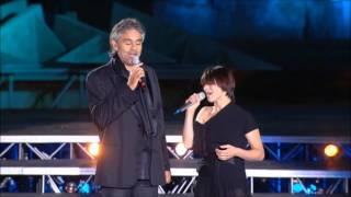 Andrea Bocelli - La Voce del Silenzio HD (live) Resimi