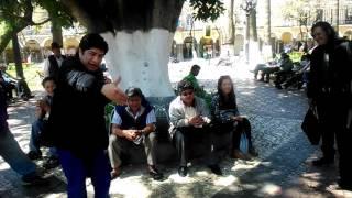 Humorista callejero Boliviano