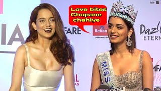 Kangana Ranaut's BEST Reply To Manushi Chillar For Winning Miss World 2017
