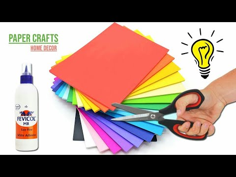 Your Home Decorate with Me || Home Decor Idea with Paper || Home Decorating Idea 100