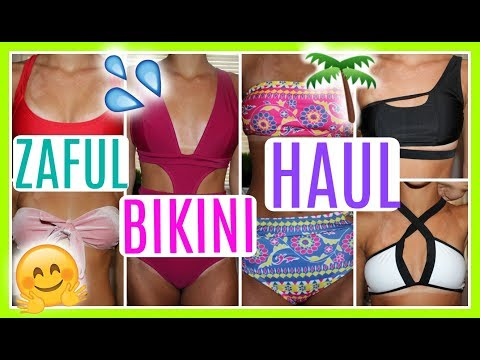 Affordable Try On Bikini & One Piece Haul + Zaful Review