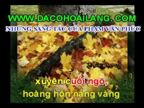 www.conhacquehuong.com -Karaoke vọng cổ: Màu Hoa Bí