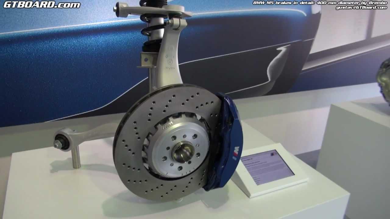 Brembo Brake Pads >> Stock BMW M5 Brakes (Brembo) in detail: 400 mm diamter ...