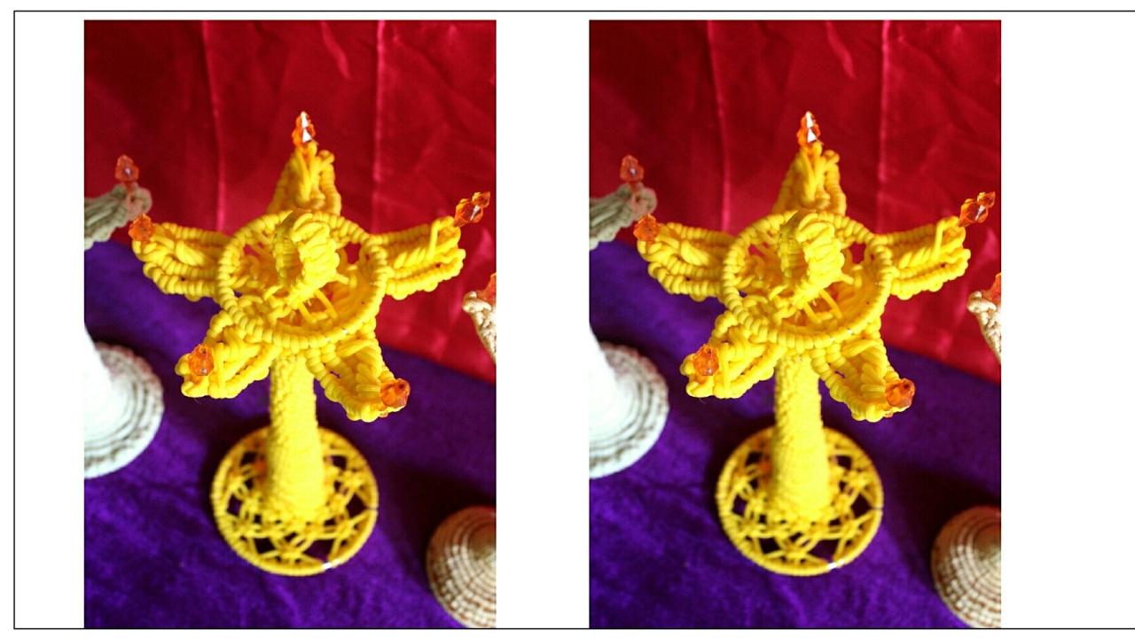 New Macrame Design Handmade Samayi Diya Making Youtube