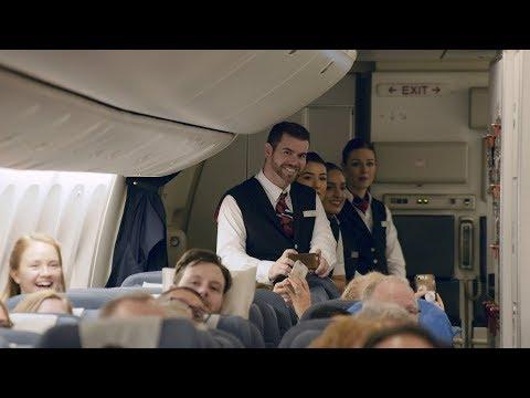 British Airways - Kingdom Choir On Board Performance