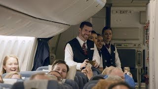 British Airways - Kingdom Choir On Board Performance