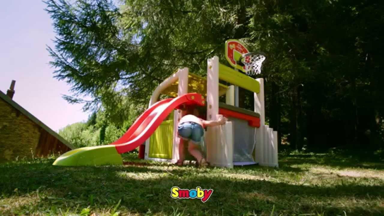 Smoby fun center au meilleur prix sur for Cabane minnie