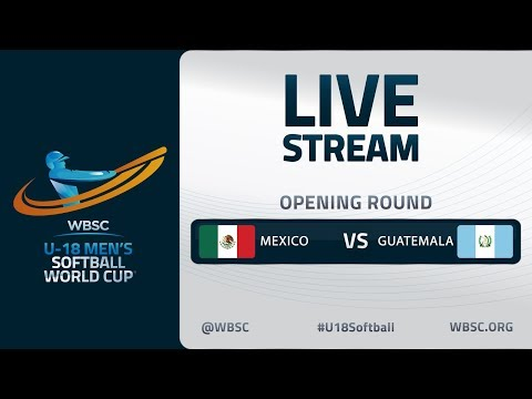 Mexico V Guatemala - U-18 Men's Softball World Cup 2020 - Opening Round