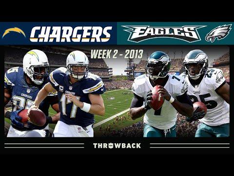 Philip Rivers & Mike Vick No Huddle Shootout! (Chargers vs. Eagles 2013, Week 2)
