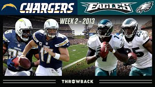 Philip Rivers & Mike Vick No Huddle Shootout! (Chargers vs. Eagles 2013, Week 2)