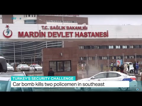 Car bomb kills two policemen in southeast Turkey