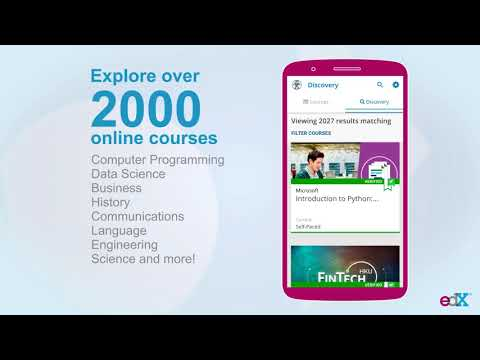 edX: Online Courses by Harvard, MIT, Berkeley, IBM - Apps on