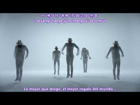 RAIN (비) - The Best Present (최고의 선물) MV [Sub Español + Hangul + Rom] HD