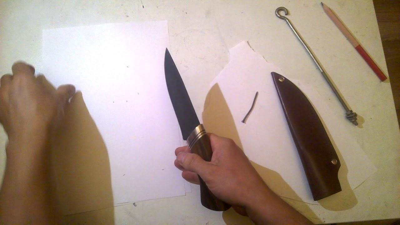 Handmade knife sharpness test  cutting an iron nail by knife  ხელნაკეთი დანის ტესტირება ჭრაზე
