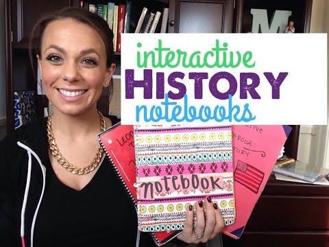 Interactive History Notebooks