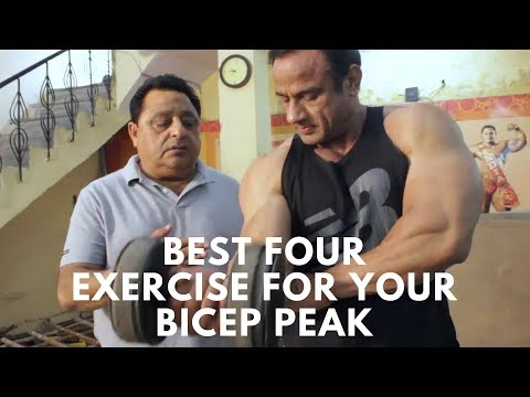 Best Four Exercise For Your Bicep Peak