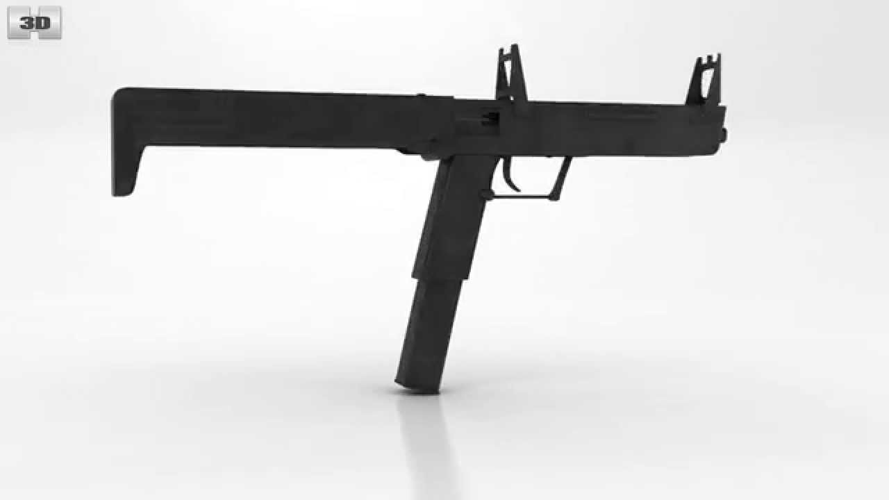 PP-90 by 3D model store Humster3D.com - YouTube