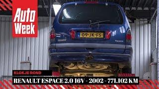 Klokje Rond - Renault Espace 2.0 16V - 2002 - 771.102 km