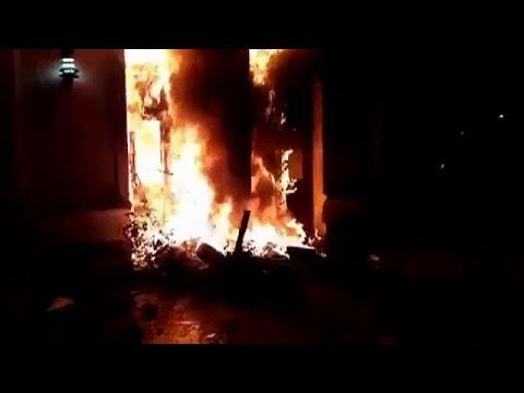 شاهد: المتظاهرون يضرمون النار في مبنى حكومي جنوب الأرجنتين…  - نشر قبل 6 ساعة