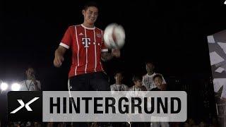 Thomas Müller, James Rodriguez und David Alaba im Freestyle-Contest | FC Bayern München