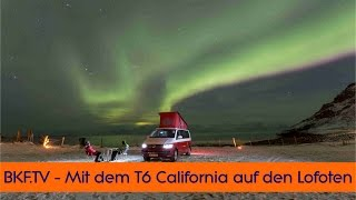 VW T6 California - Explore the North California 2017 - BKF TV Hardcore Test