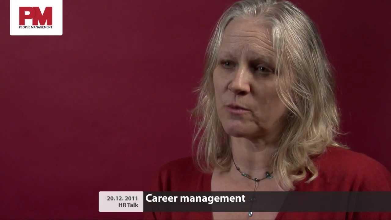 Angela Baron hr talk: career management