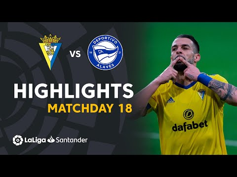 Cadiz Alaves Goals And Highlights