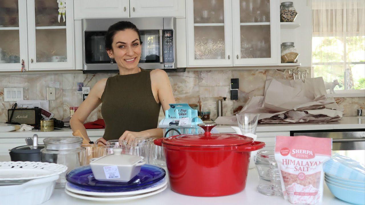 Ինչ եմ Գնել Home Goods Խանութից - Նոր Սպասք - Heghineh Cooking Show in Armenian