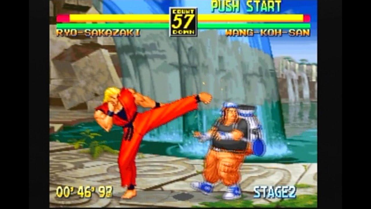 Art Of Fighting Anthology Ps2 Youtube
